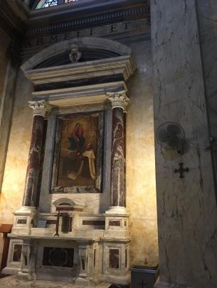 The altar at Stella Mars